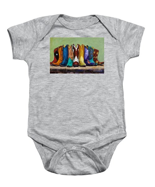 Why Real Men Want To Be Cowboys Baby Onesie