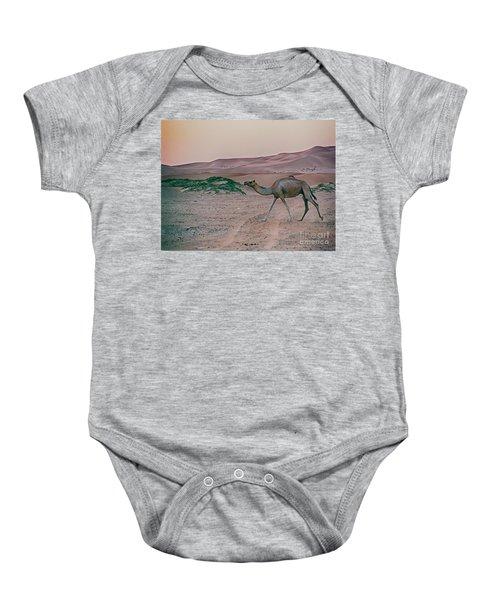 Wild Camel Baby Onesie