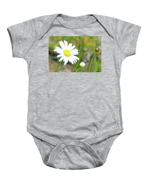 Wild Daisy With Visitor Baby Onesie