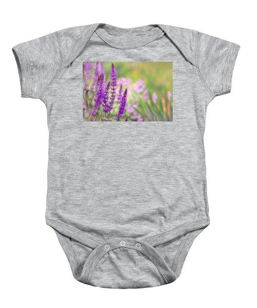 Wild Flower Baby Onesie