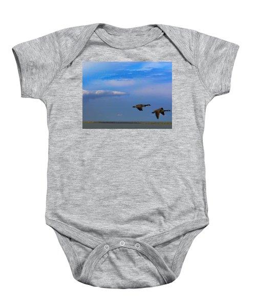 Wild Goose Chase Baby Onesie