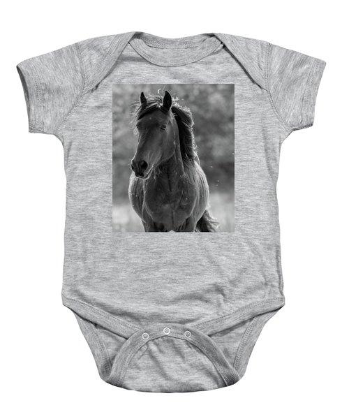 574d6125e0b4 Spanish Mustang Baby Onesies