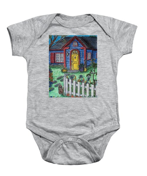 Wildflower Cottage Baby Onesie