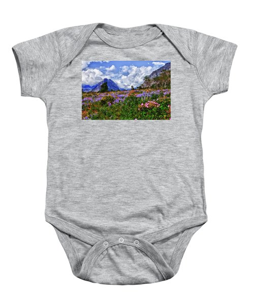 Wildflower Profusion Baby Onesie