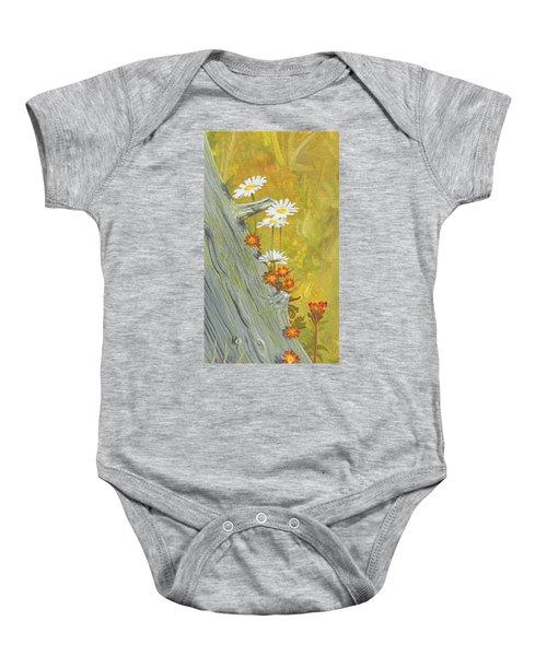 Wildflowers Baby Onesie
