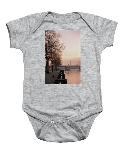 Willamette Riverfront, Portland, Oregon Baby Onesie