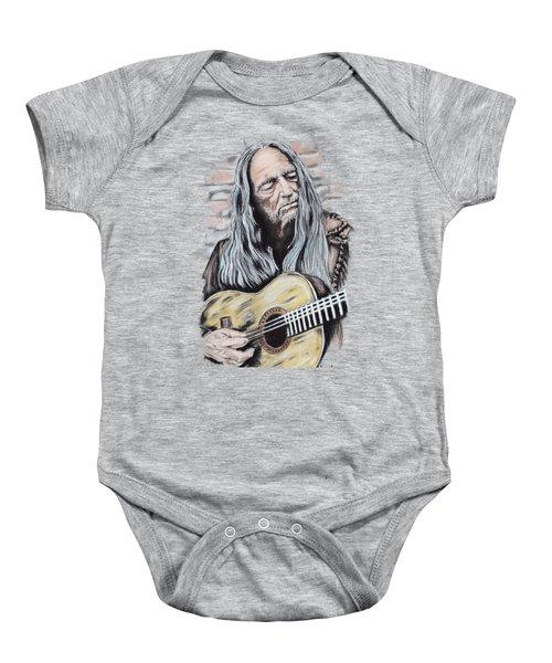 Willie Nelson Baby Onesie