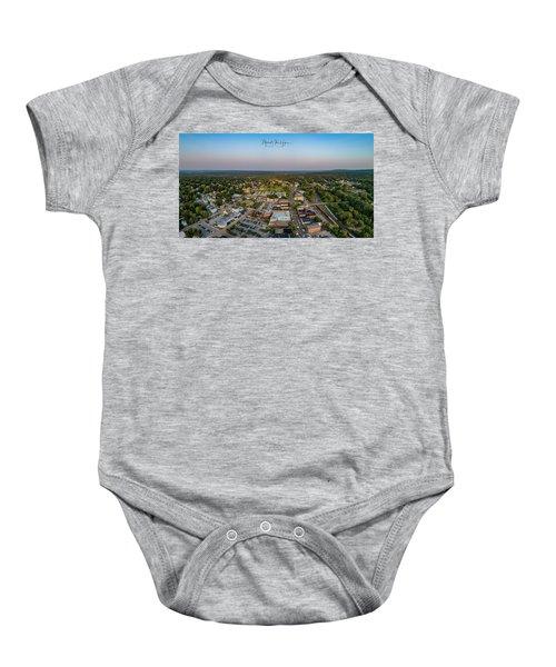 Willimantic Panorama Baby Onesie