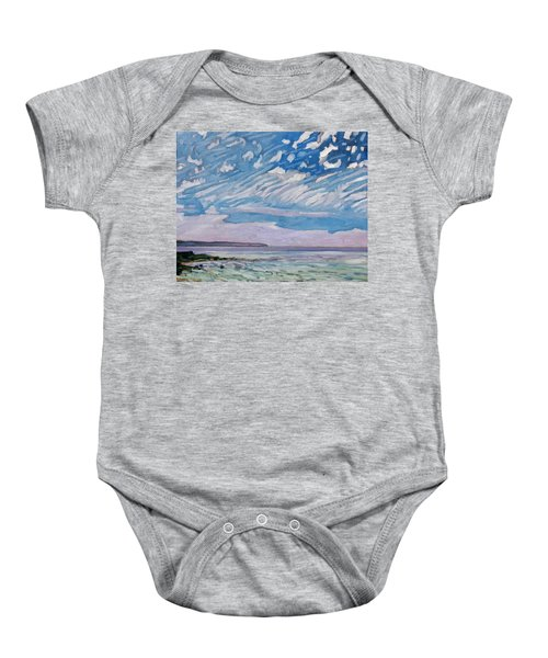 Wimpy Cold Front Baby Onesie