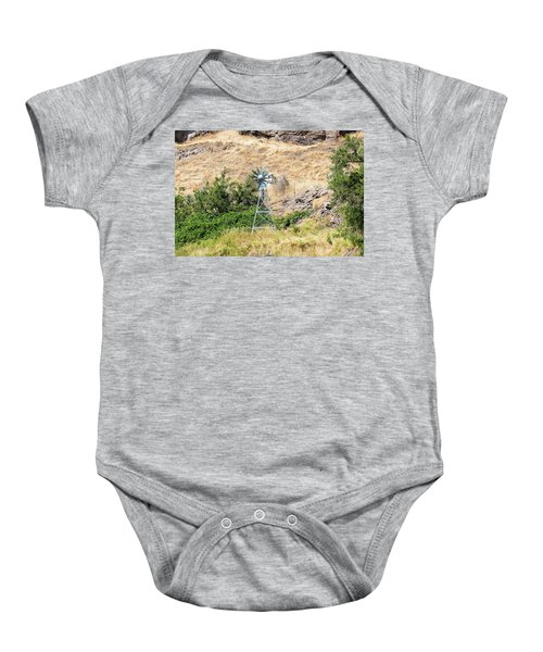 Windmill Aerator For Ponds And Lakes Baby Onesie