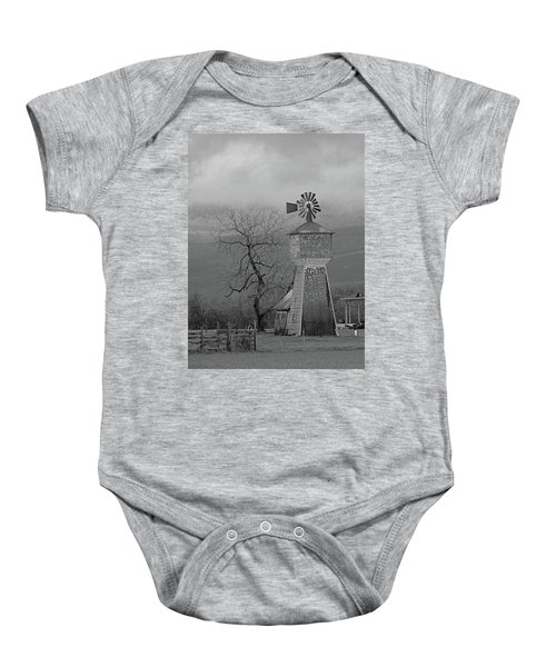 Windmill Of Old Baby Onesie