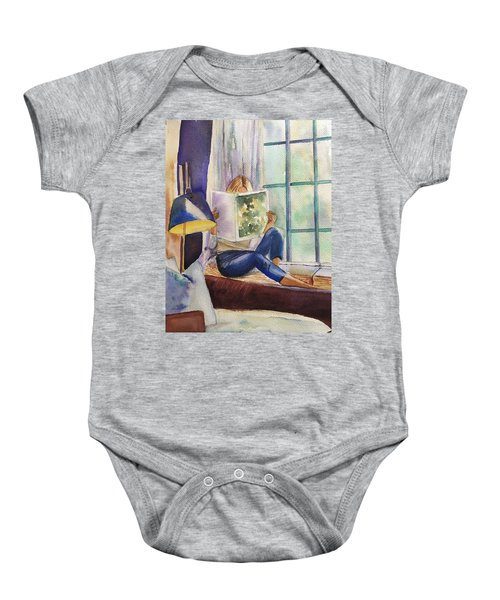 Window Seat Baby Onesie