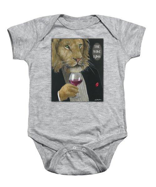 Wine King... Baby Onesie