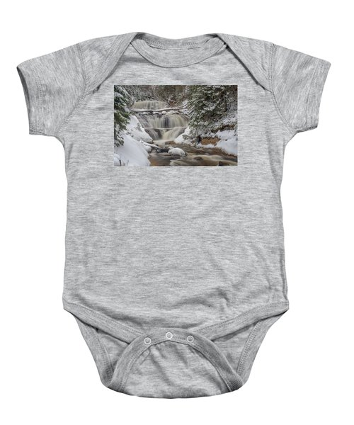Winter At Sable Falls Baby Onesie