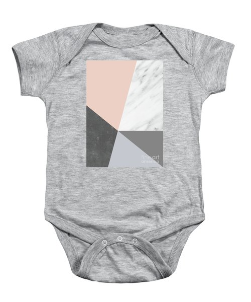Winter Colors Collage Baby Onesie