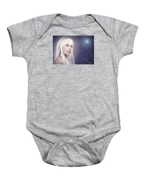 Winter Fae Baby Onesie