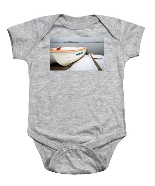 Winter, Falmouth, Maine  -18674 Baby Onesie