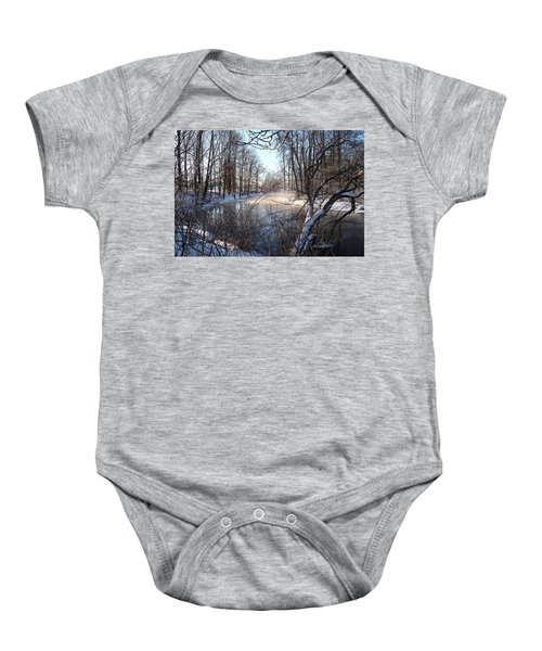 Winter Frost Baby Onesie