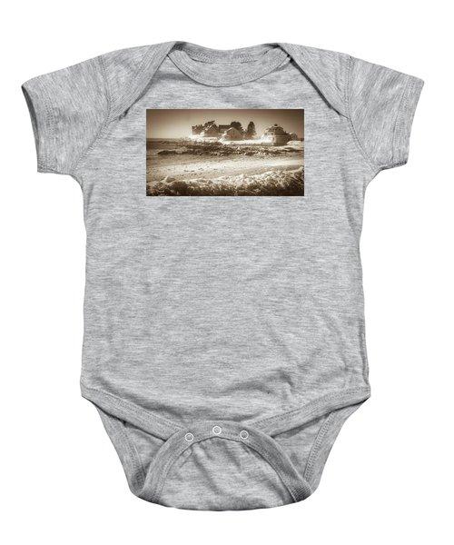 Winter - Lord's Point - Kennebunk Baby Onesie