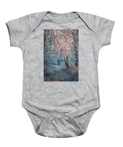 Winter Path #h1 Baby Onesie