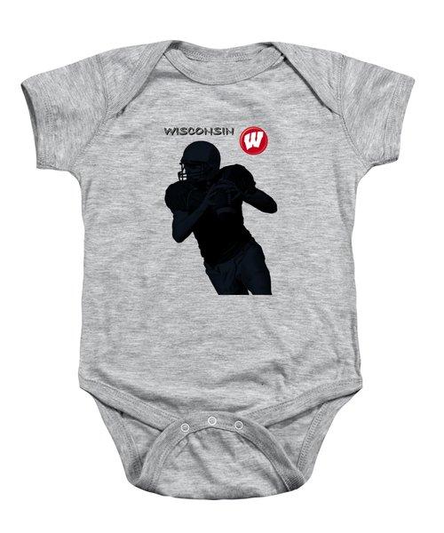 Wisconsin Football Baby Onesie