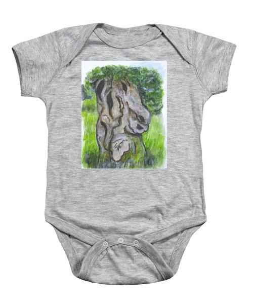 Wisdom Olive Tree Baby Onesie