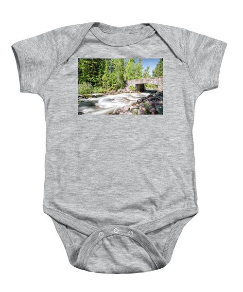 Wistful Afternoon Baby Onesie