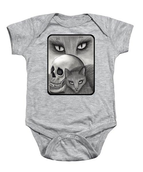 Witch's Cat Eyes Baby Onesie