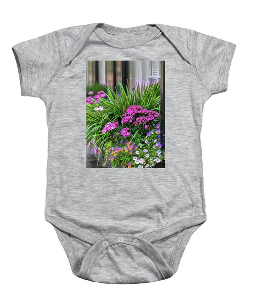 Wonderful Window Boxes Of Charleston Baby Onesie