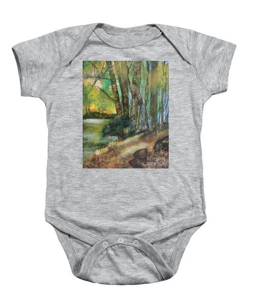 Woods In The Afternoon Baby Onesie