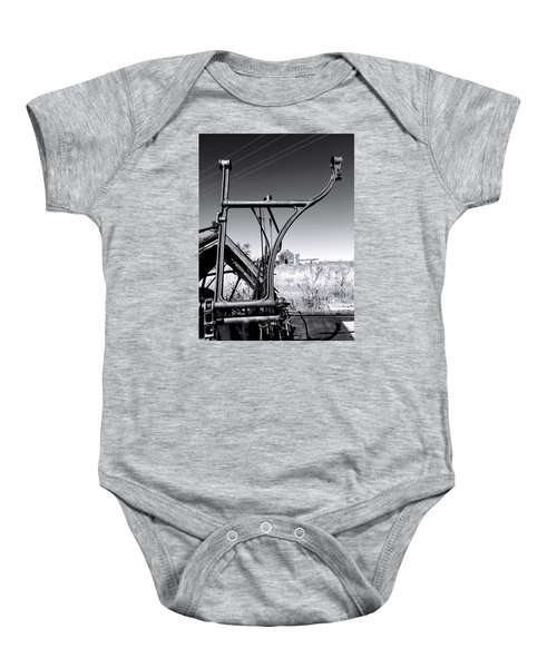 Worked To Death Baby Onesie