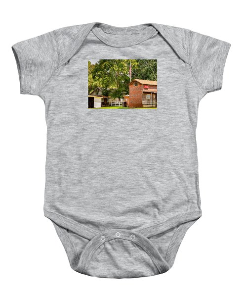 Mountains Baby Onesie