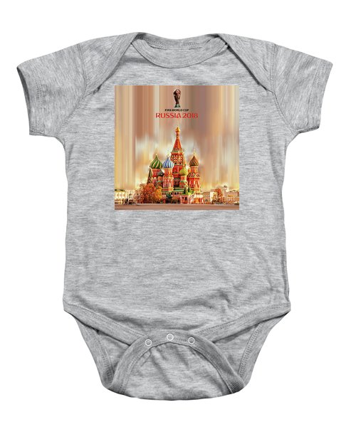 World Cup Russia 2018  Baby Onesie