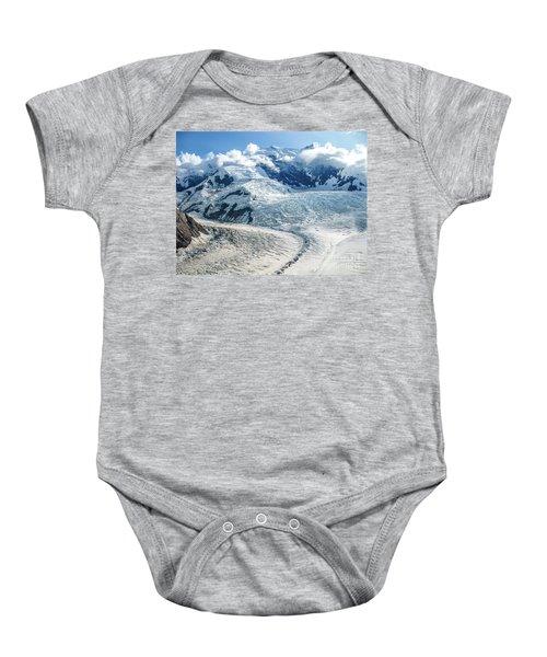 Wrangell Alaska Glacier Baby Onesie