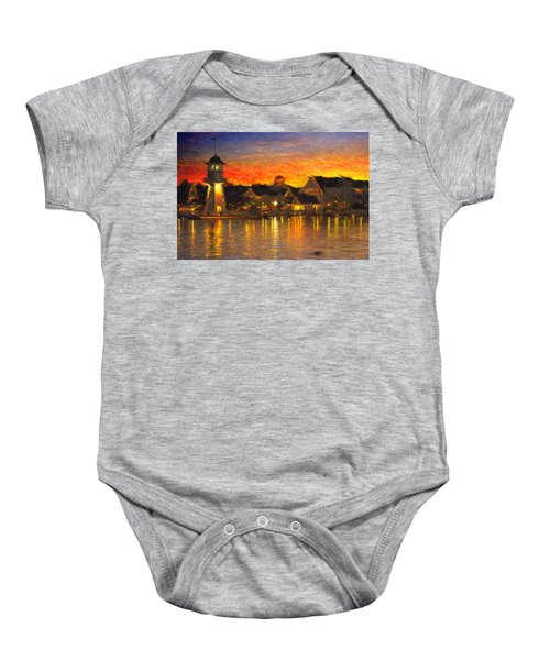 Yacht Club Baby Onesie