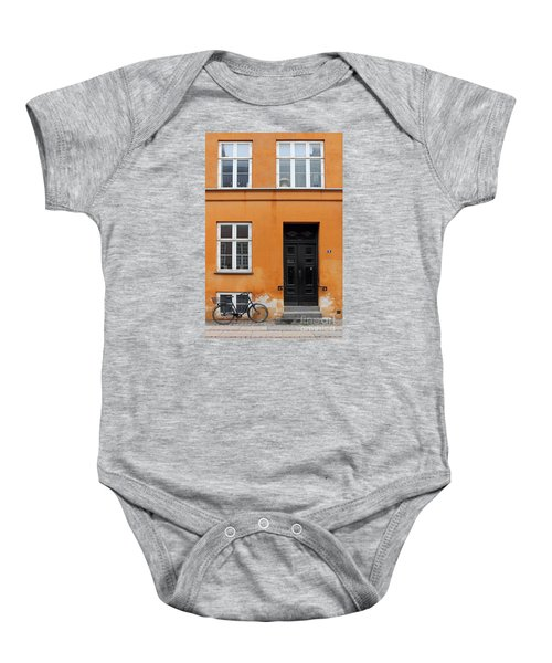 The Orange House Copenhagen Denmark Baby Onesie