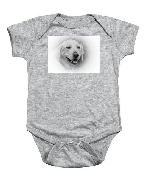 Yellow Labrador Baby Onesie