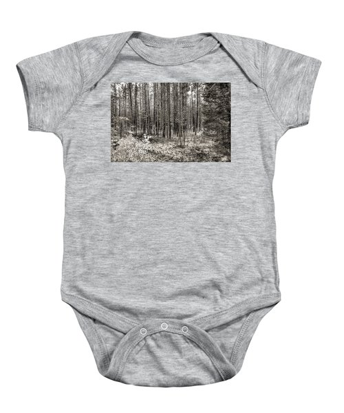 Yellowstone Fire Burn Scar Baby Onesie