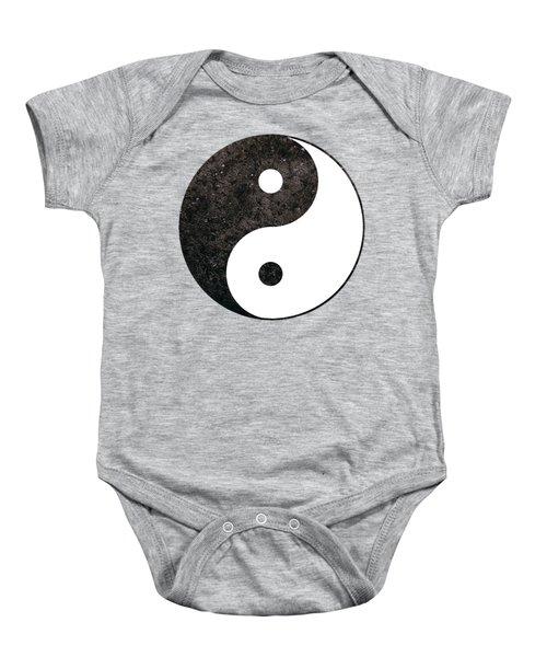 Yin Yang Symbol Baby Onesie
