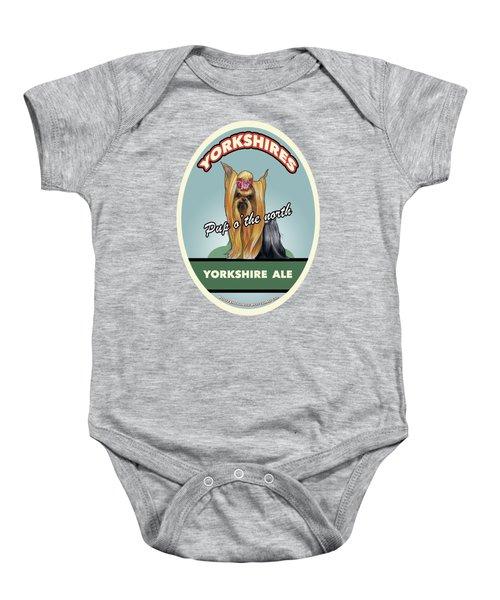 Yorkshire Ale Baby Onesie