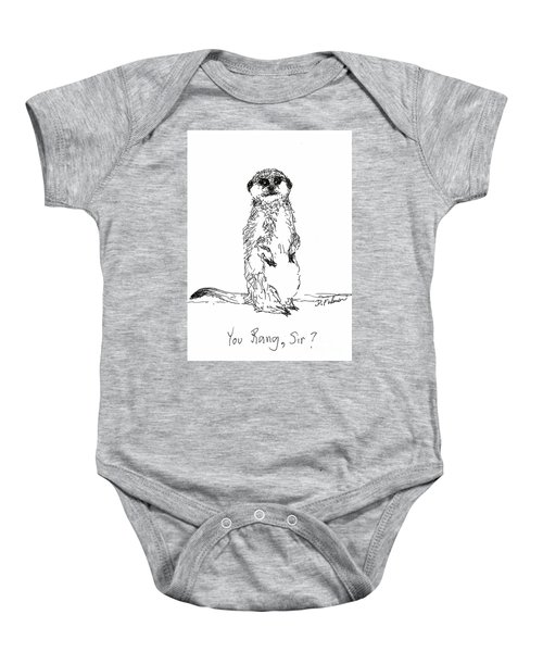 You Rang, Sir? Baby Onesie