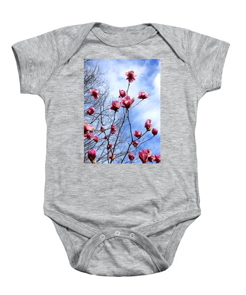 Young Blooms Baby Onesie