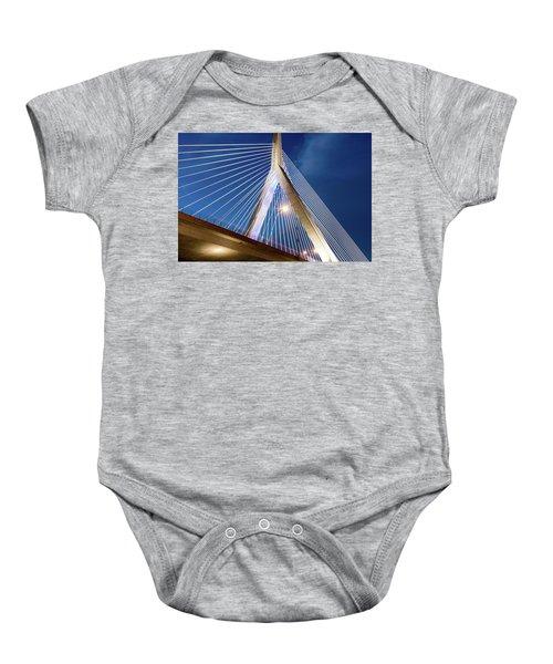 Zakim Bridge Upclose Baby Onesie