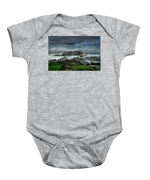 Zamas Beach #14 Baby Onesie