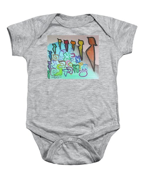 Zayin, Protecting The Tribe Ab24 Baby Onesie