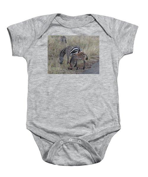 Zebras In Kenya 1 Baby Onesie