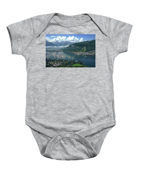 Zell Am See Panorama Baby Onesie