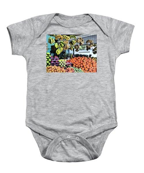 Zihuatanejo Market Baby Onesie