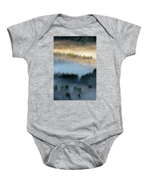 Adirondack Fog Baby Onesie