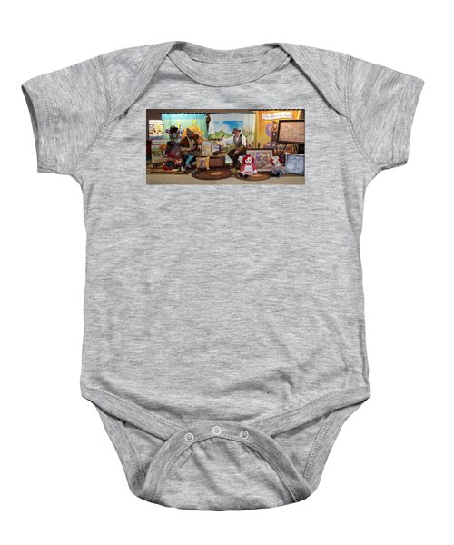 Doctor Jay And The Guardians Of Time Baby Onesie